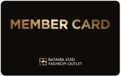 Bataviastad membercard