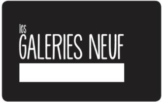 Les Galeries Neuf klantenpas