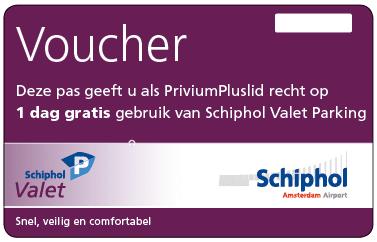 Schiphol Valet parking