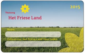 Het Friese Land ledenpas