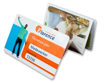 Vouwcard Florence